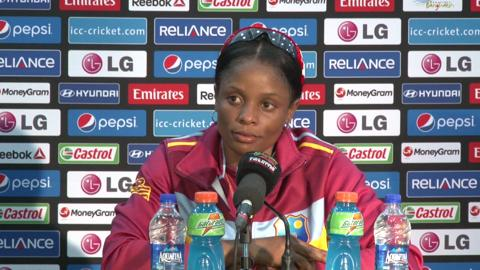 SF1: West Indies women's captain Merissa Aguilleira PC