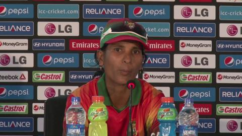 Women's World Twenty20- 9th place playoff- Bangladesh's Salma Khatun PC