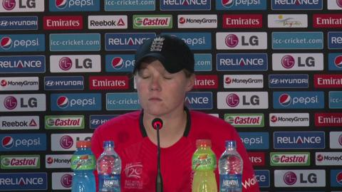 Women's World Twenty20 M16 England's Anya Shrubsole PC