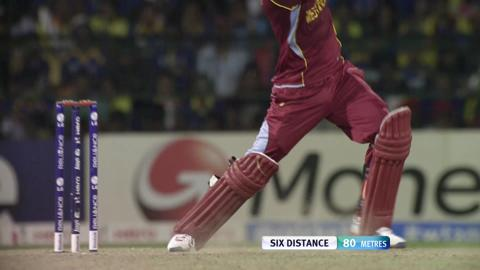 Marlon Samuels' knock against Sri Lanka, WT20 2012 Final