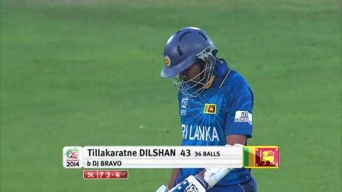 Warm-up: SL v WI - Sri Lanka Innings Short Highlights