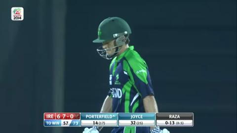 M8: IRE v UAE, Man Of The Match - Ed Joyce