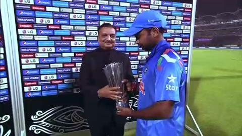 M13: IND v PAK - Man of The Match - Amit Mishra