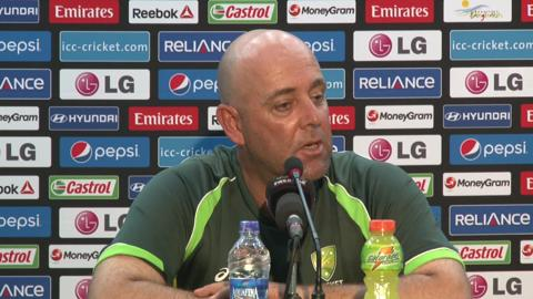 Pre-India match Australia coach Darren Lehmann PC