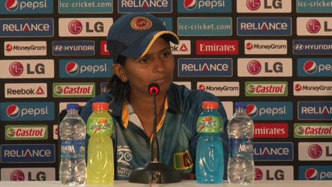 Women's World Twenty20 M4 - Sri Lanka's Shashikala Siriwardene