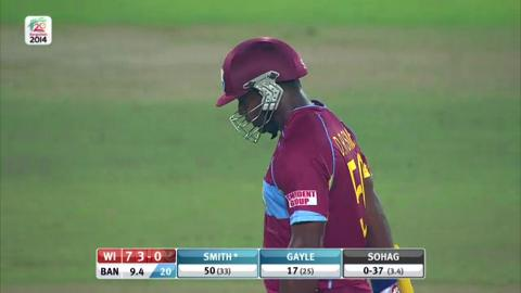 M20: BAN v WI - West Indies Super Fours