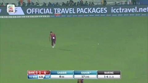 M20: Ban v WI - Bangladesh innings Short Highlights