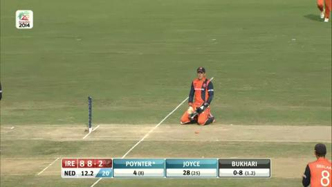 M12: IRE v NED - Ireland Wickets