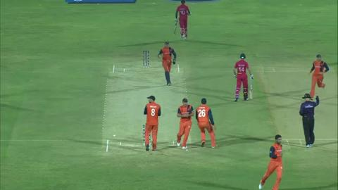M7: ZIM v NED - Sean Williams Wicket