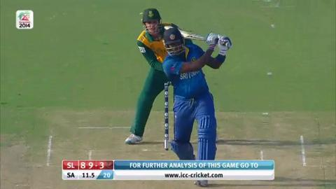 M14: SL v SA - Sri Lanka Innings Short Highlights