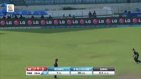 Warm up : NZ v Pak -  BMcCullum Inning