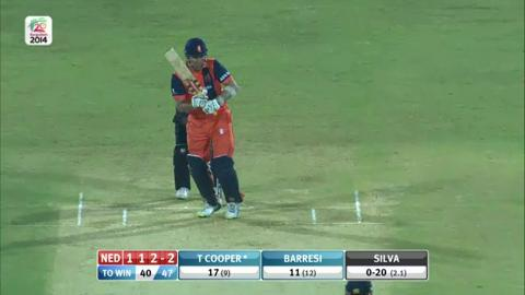 M4: UAE v NED - Tom Cooper Innings