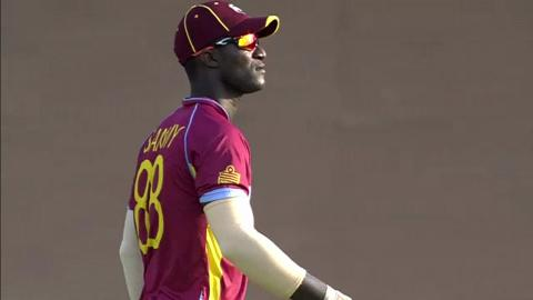 M23:  AUS v WI - James Faulkner Wicket
