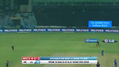 M5: AFG v HK - Man of The Match - Mohammad Shahzad