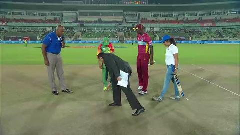 M20: BAN v WI - Pitch Toss Report