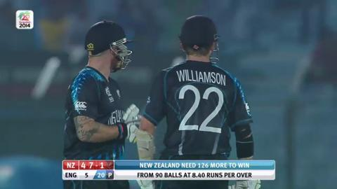 M15: ENG v NZ - New Zealand Innings Super Sixes