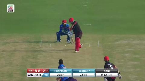 M5: AFG v HK - Hong Kong Innings - Short Highlights