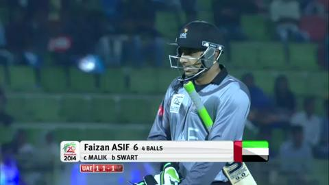 M4: UAE v NED - Ahsan Malik Bowling Package