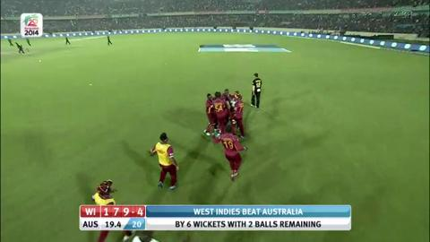 M23: AUS v WI - Man of The Match – Darren Sammy