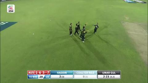 M16: AUS v PAK - Nathan Coulter-Nile Wicket