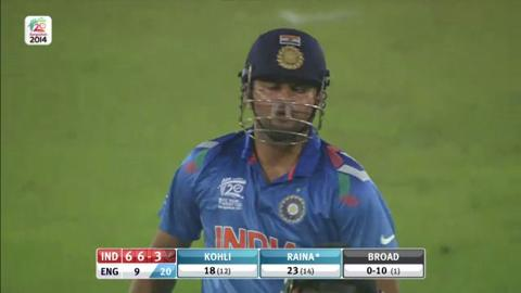 Warm-up: IND v ENG -  India Innings Super Fours