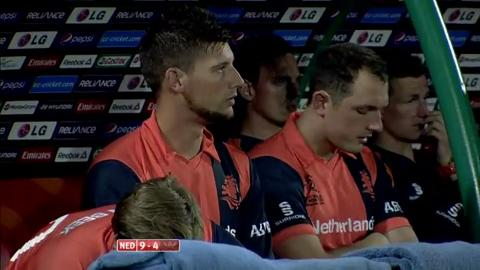 M19: SL v NED - Peter Borren Wicket
