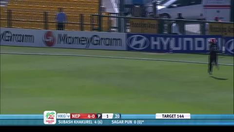 Hong Kong v Nepal, full highlights, ICC WT20Q 2013