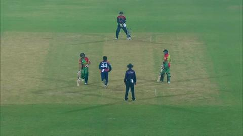 M6: BAN v NEP - Anamul Haque Wicket