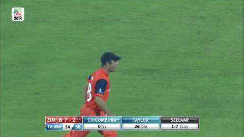 M7: ZIM v NED - Zimbabwe Innings Short Highlights