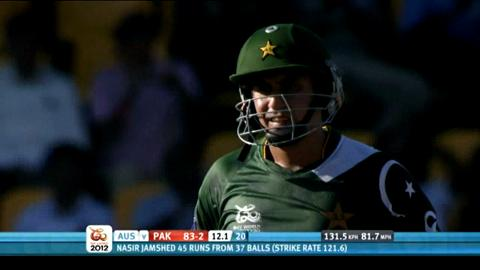 Super Eights - Australia v Pakistan - Pakistan innings