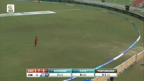 M11: Zim v UAE - Swapnil Patil Innings