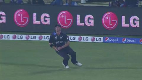 M15: ENG v NZ - Michael Lumb Wicket