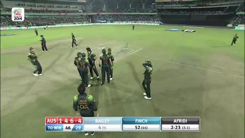 M16: AUS v PAK - George Bailey Wicket