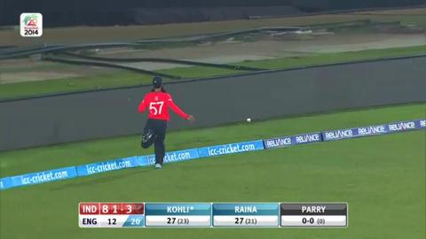 Warm-up: IND v ENG - India Innings Short Highlights