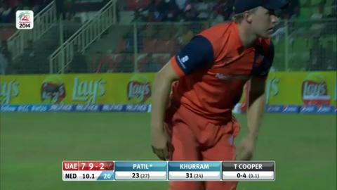 M4: UAE v NED - Innings 1 - Super Fours