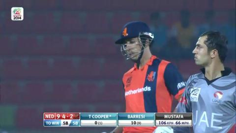 M4: UAE v NED - 2nd Innings - Short Highlights