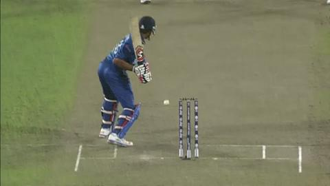 Warm-up: SL v WI - Sachithra Senanayake Wicket