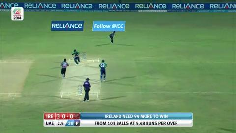 M8: IRE v UAE - William Porterfield Innings