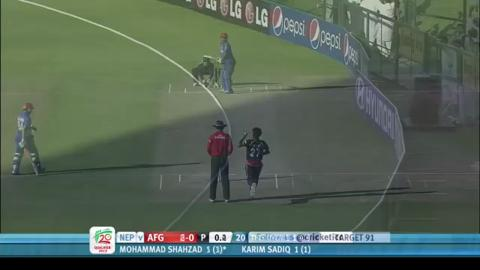 Afghanistan v Nepal, 1st semi-final, Full highlights, ICC WT20Q 2013