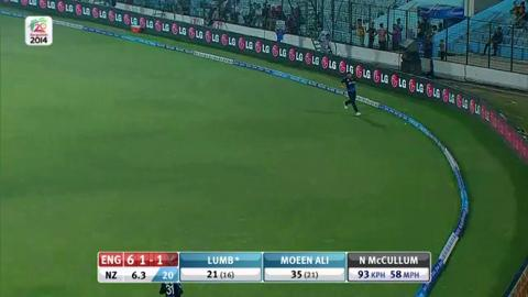 M15: ENG v NZ - England innings Super Fours