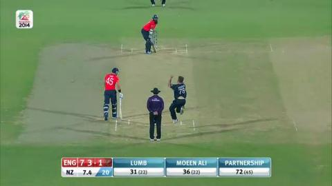 M15: ENG v NZ - England innings Short Highlights