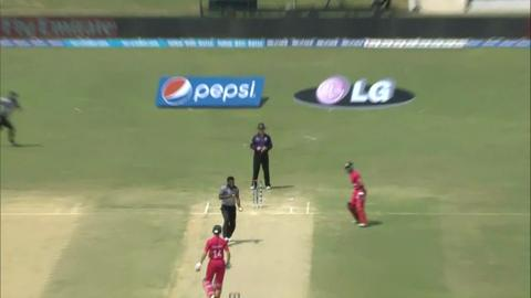M11: Zim v UAE  - Sean Williams Wicket