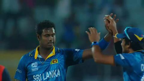 M19: SL v NED  -Angelo Mathews Bowling Package