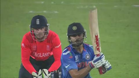 Warm-up: IND vs ENG - Virat Kohli Innings
