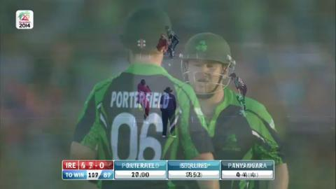 M3: ZIM v IRE - Innings 2 - Super Fours