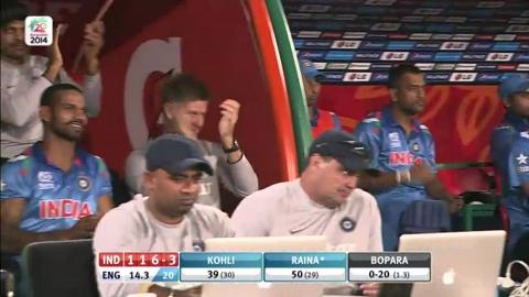 Warm-up: IND v ENG - India Innings Super Sixes