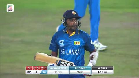 Warm-up: IND v SL - Mahela Jayawardena Wicket