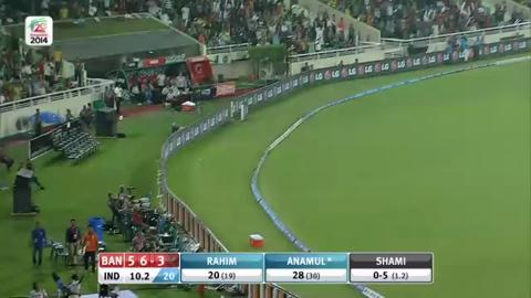M24: Ind v Ban - Bangladesh innings Short Highlights