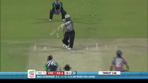 UAE innings v Ireland, 2nd semi-final, ICC WT20Q 2013