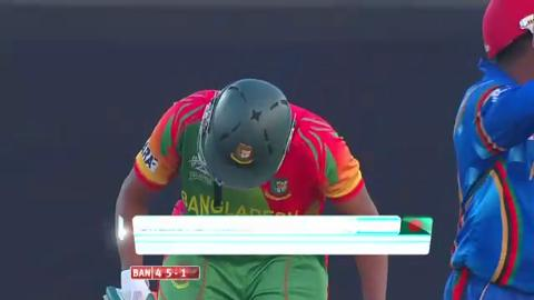 M1: Ban v Afg, Man of The Match - Shakib Al Hasan